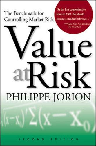 9780071228312: Value at Risk: The Benchmark for Controlling Market Risk