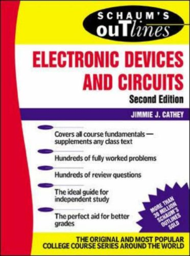 9780071229180: Schaum's Outline of Electronic Devices and Circuits, Second Edition