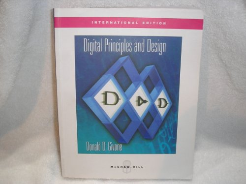 9780071230056: Digital Principles and Design, International Edition
