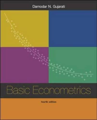9780071230179: Basic Econometrics