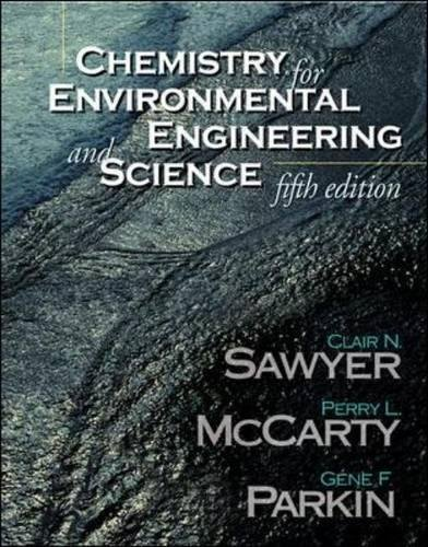 9780071230452: Chemistry for Environmental Engineering and Science