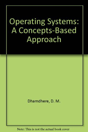 9780071230568: Operating Systems: A Concepts-Based Approach