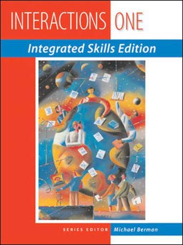 9780071231053: INTERACTIONS: INTEGRATED SKILLS PROGRAM STUDENT BOOK 1: Integrated Skills Edition