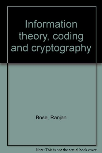 9780071231336: Information theory, coding and cryptography