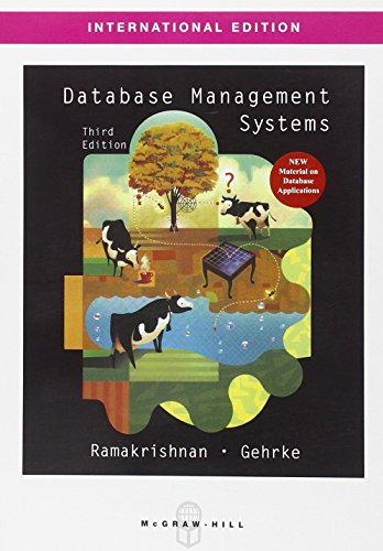 9780071231510: Database Management Systems (Asia Higher Education Engineering/Computer Science Computer Science)