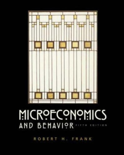 9780071232043: Microeconomics and Behavior