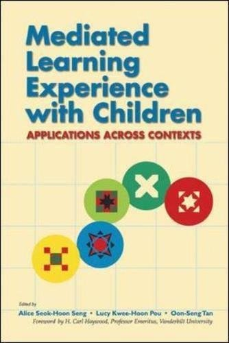 9780071232173: Mediated Learning Experience with Children: Applications Across Contexts