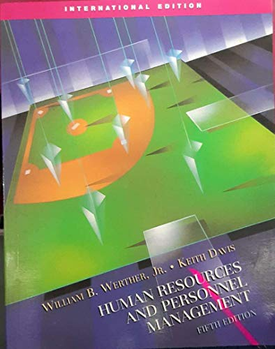 9780071232180: Human Resources and Personnel Management, 5e
