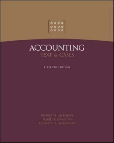 9780071232265: Accounting: Text and Cases