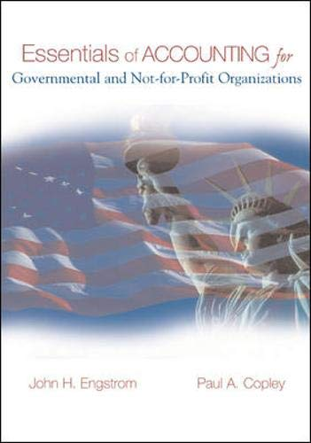 9780071232395: Essentials of Accounting for Governmental and Not-for-profit Organizations