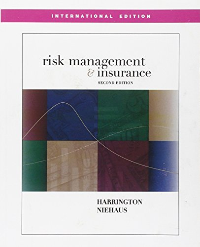 9780071232449: Risk Management and Insurance (Asia Higher Education Business & Economics Finance)