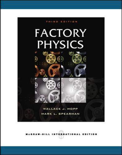 9780071232463: Factory Physics