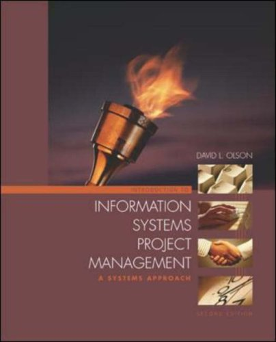9780071232616: Introduction to Information Systems Project Management: A Systems Approach