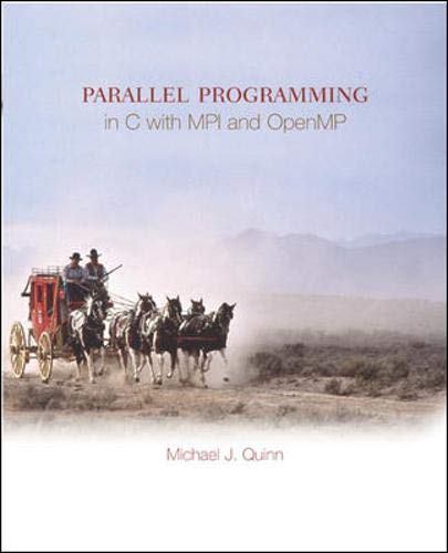 9780071232654: Parallel Programming in C with Mpi and Openmp