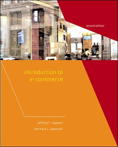 9780071232661: Introduction to E-Commerce