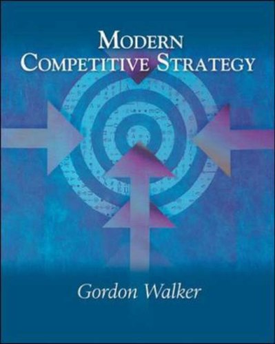 9780071232746: Modern Competitive Strategy