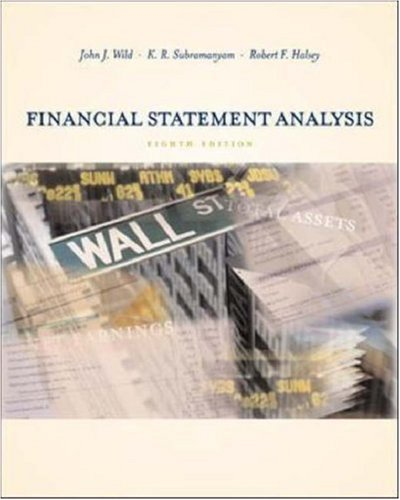 Financial Statement Analysis: Wild, John J.,