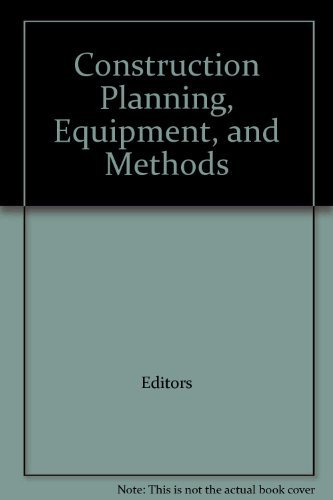 9780071233033: Construction Planning, Equipment, and Methods