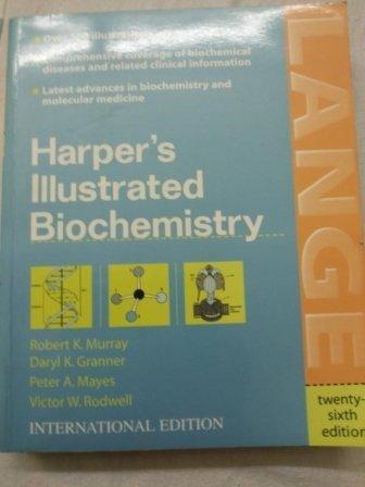 9780071233545: Harper's Illiustrated Biochemistry (International Edition)