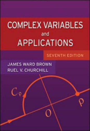 9780071233651: Complex Variables and Applications