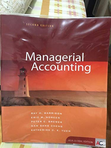 9780071234313: Managerial Accounting / with CD (International Edition) - Ray H. Garrison - Paperback -