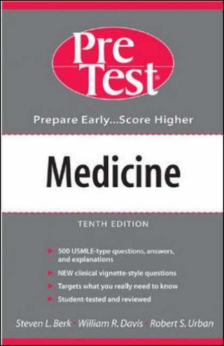 9780071235709: Medicine: PreTest Self-Assessment and Review