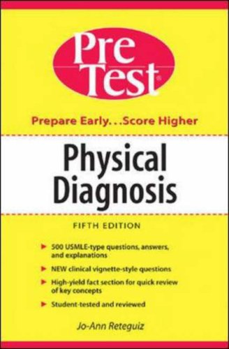 9780071235792: Physical Diagnosis: PreTest Self-Assessment and Review
