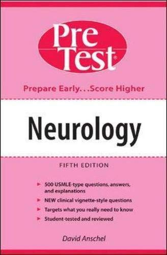 9780071235815: Neurology: PreTest Self-Assessment and Review