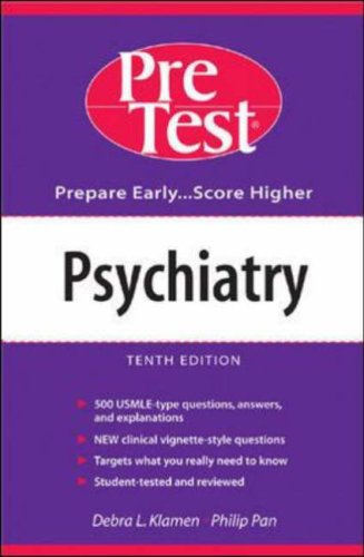 9780071235914: Psychiatry: PreTest Self-Assessment and Review