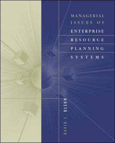 9780071236287: Managerial Issues of Enterprise Resource Planning Systems