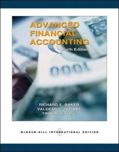 9780071238199: Advanced Financial Accounting