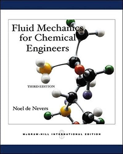 9780071238243: Fluid Mechanics for Chemical Engineers (UK Higher Education Engineering Chemical Engineering)