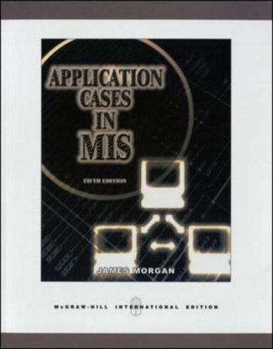 9780071238366: Application Cases in Management Information Systems