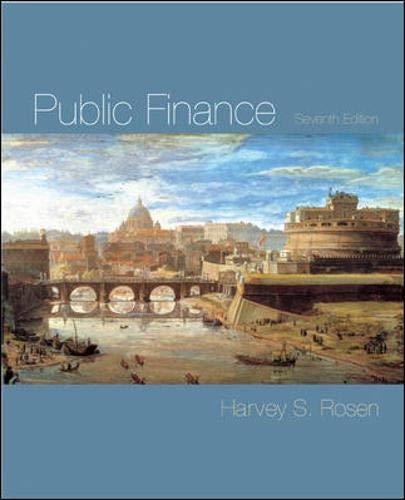 9780071238427: Public Finance