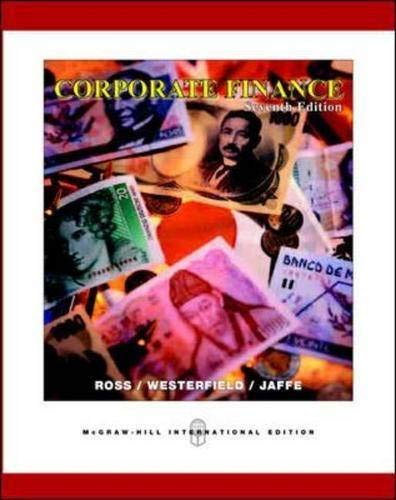 9780071238441: Corporate Finance: With Student CD-ROM and Standard and Poor's Card and Ethics PowerWeb