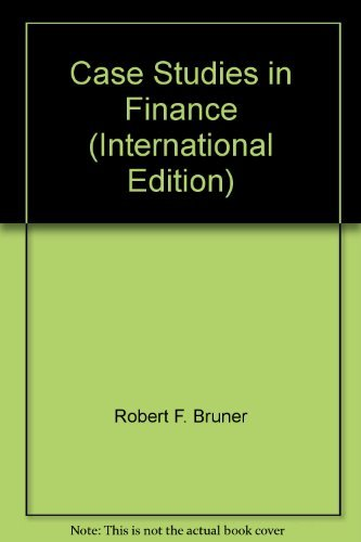 9780071239226: Case Studies in Finance (International Edition)