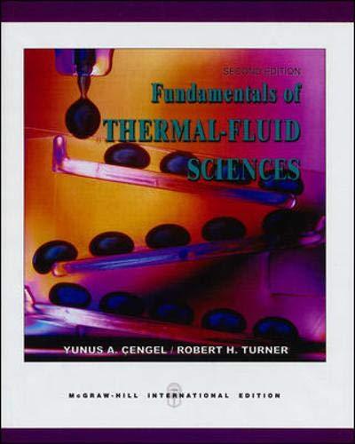 9780071239264: Fundamentals of Thermal-fluid Sciences