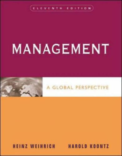 9780071239462: Management: A Global Perspective, 11th Edition