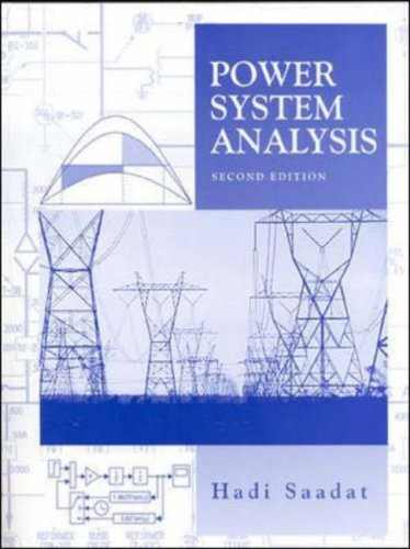 9780071239554: Power Systems Analysis