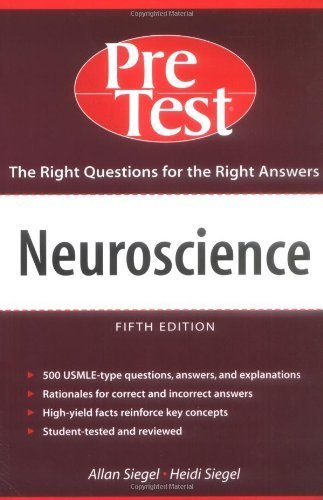 9780071240079: Neuroscience: Pretest Self-Assessment and Review