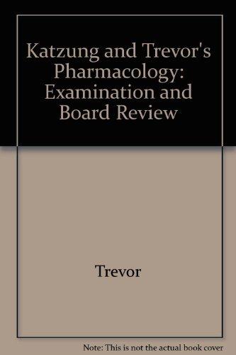 9780071240116: Katzung & Trevor's Pharmacology 7e