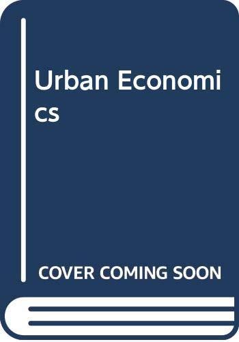 9780071240413: Urban Economics