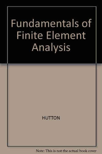 9780071241601: Fundamentals of Finite Element Analysis