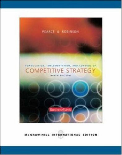 9780071242196: Formulation, Implementation and Control of Competitive Strategy: With Powerweb, Olc and Business Week Card