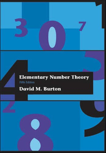 9780071243254: Elementary Number Theory