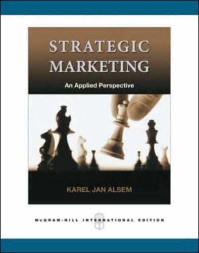 9780071244176: Strategic Marketing: A Practical Approach