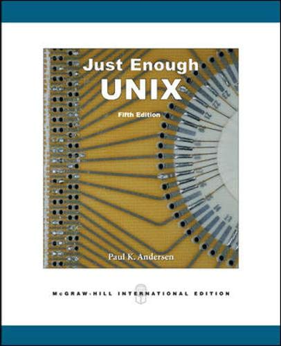 9780071244183: Just Enough UNIX
