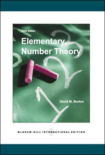 9780071244251: Elementary Number Theory