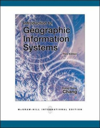 9780071244282: Introduction to Geographic Information Systems