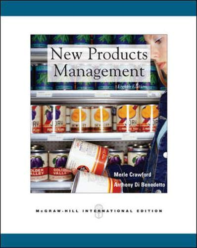 9780071244336: New Products Management